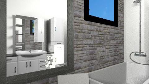 Guest bath - Minimal - Bathroom - by aleya