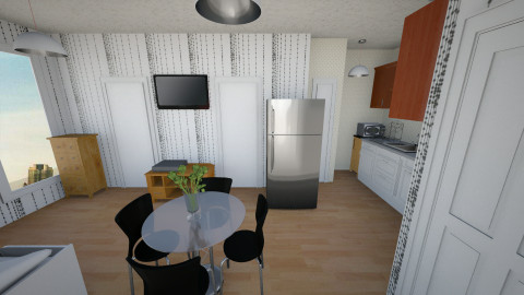 Studio2 Fridge - Kitchen - by mzprincess