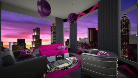 Neon - Living room - by GylfiThorSigurdsson