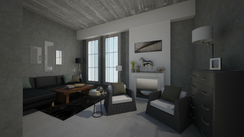 1111 - Living room - by MoriartyIOU