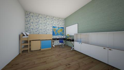 Boys Room - Kids room - by Katie Kins