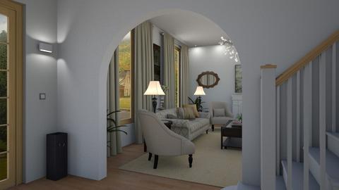 Foyer 2 - Living room - by GraceKathryn