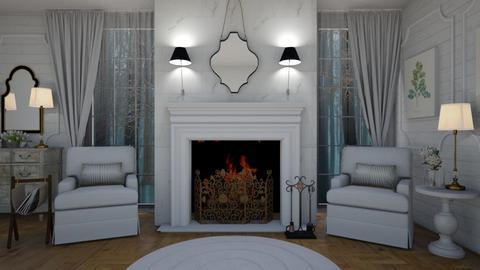 Shabby B2 - Bedroom - by rickglassinteriors