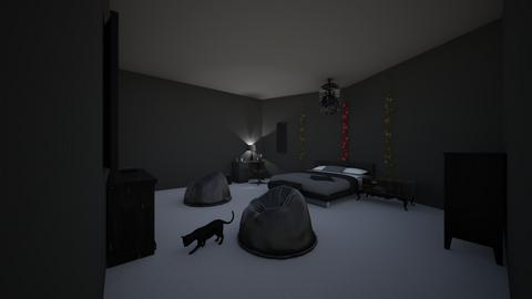 Zens room - Bedroom - by carcioGeneticist