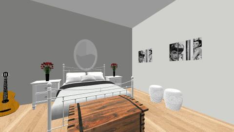Peele en Jill kamer - Bedroom - by Jillheemskerk