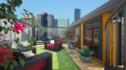 Rooftop Greenery  - Garden - by janelle1