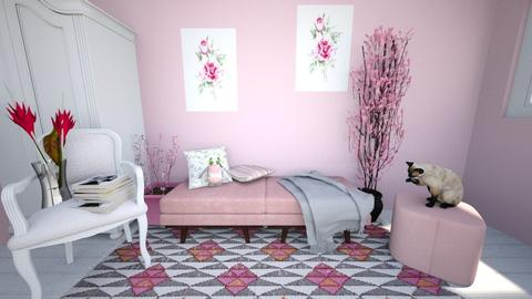 pinky - Classic - Bedroom - by Alexa01
