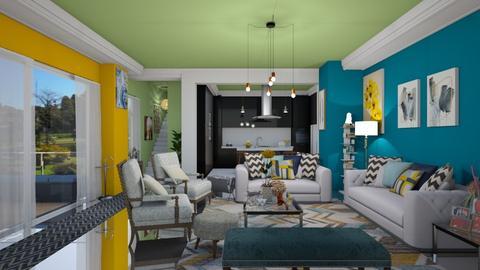 Azul - by Design By Aafira