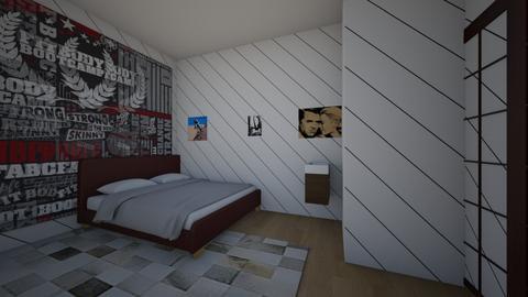 skyss - Retro - Bedroom - by skysmith1234