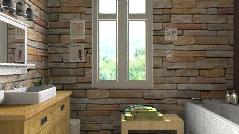 Copy from another copy - Rustic - Bathroom - by Reported