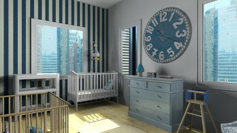 Babyroom - Kids room - by marijnv99