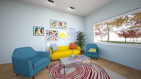 Modern Living Space - Modern - Living room - by janelle247