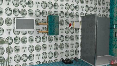My dream bathroom - Retro - Bathroom - by MayzBeannn