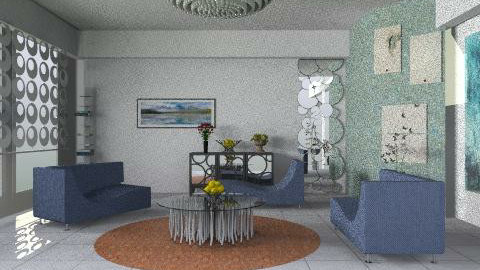 blue - Modern - Living room - by ana2000