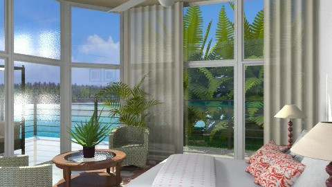 Water Front - Eclectic - Bedroom - by channing4