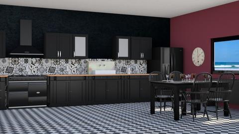 5 - Kitchen - by Alec Railev