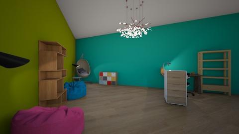 fun in the sun - Kids room - by Alice F