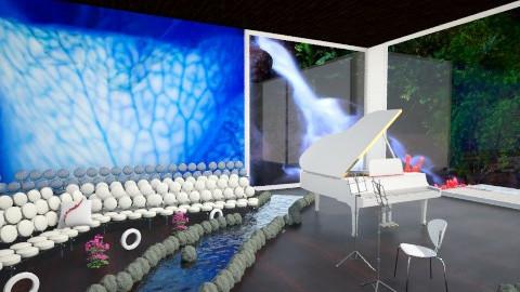 Mini Concert Hall - Living room - by ThePiMonster
