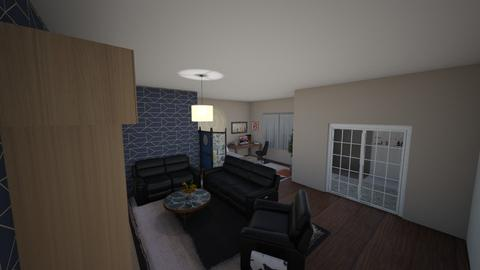 basement room w ensuite - Modern - Bedroom - by LaurenLakin