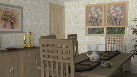 Dining Room for Liz 3 - Dining Room - by SylviaAst