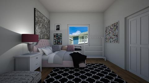 teen bedroom - Bedroom - by Anna_Marie_06