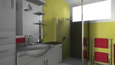 For Jaimea 3 - Eclectic - Bathroom - by Theadora
