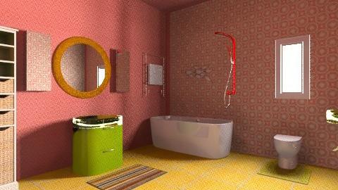 1970s Modern Bathroom - Retro - Bathroom - by tillla01