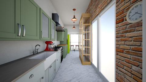 Plan B keuken 3 - Kitchen - by pixie_16