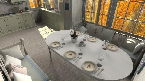 Rustic - Kitchen - by SimoneBennie1996