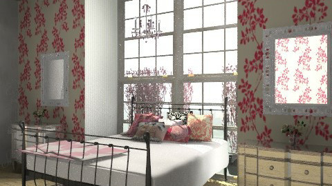 Bedroom - Vintage - Bedroom - by emilypinnock