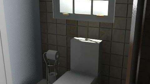 baño - Country - Bathroom - by akashareikiana