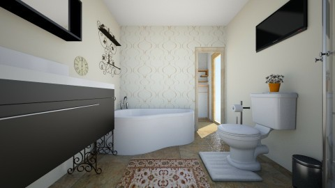 New master and half easte - Bathroom - by Bluefreeze