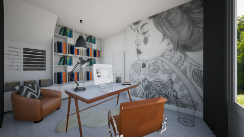 Home Office - Office - by MilaMao