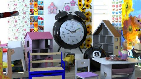 Thru the Looking Glass PlayRm  - Kids room - by SylviaAst