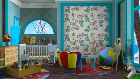 Nursery Fun for Oliver :) - Kids room - by Your well wisher