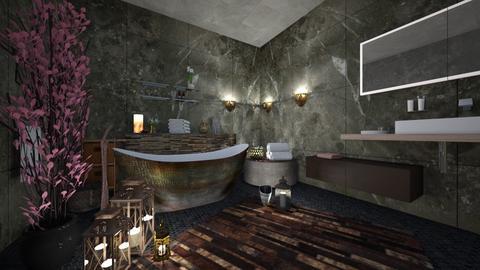 Bath - Rustic - Bathroom - by Kc Bee