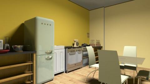Kitchen - Classic - Kitchen - by lilach26