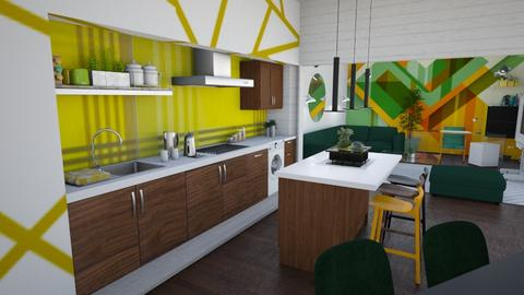 Trio - Modern - Kitchen - by The quiet designer
