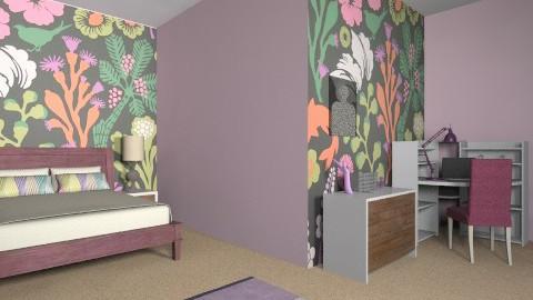 Avrils Room - Feminine - Bedroom - by AoifeK
