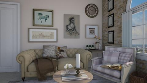 shabby living - Country - Living room - by bibi_pat