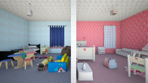 2nd Floor Kids Rooms - Classic - Kids room - by TailaHot