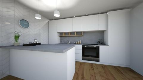 scandinavian kitchen - by annsal