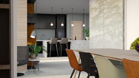 asame 2  - Living room - by Gwenda van Maaren