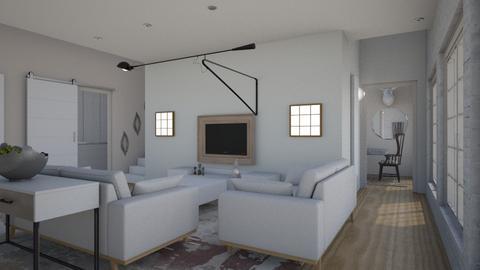 Vertiplan - Living room - by The quiet designer