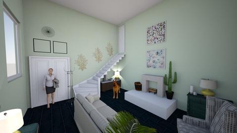 sitting room - by ariematia