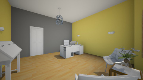 number 2 - Minimal - Office - by mariamna21