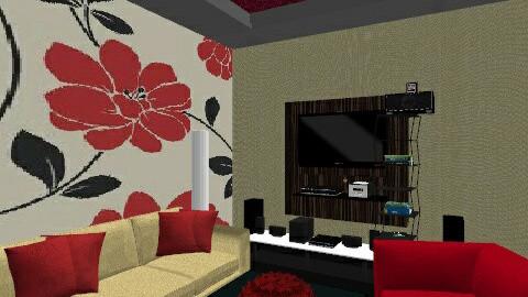 modren - Glamour - Living room - by KhoKho Yemen