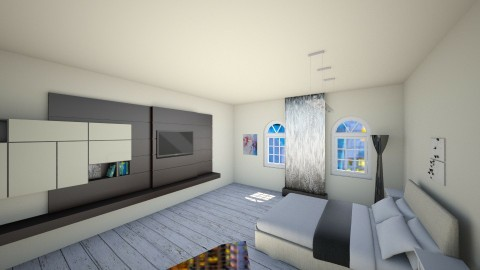 Modern Bedroom - Bedroom - by catcarey