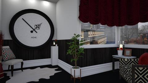big clock - Modern - Living room - by donella