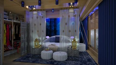 I love blue  - Eclectic - Bedroom - by Ida Dzanovic